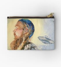 Nordic and Silver Studio Pouch