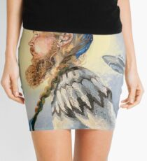Nordic and Silver Mini Skirt