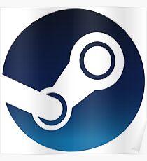 Steam-Logo Poster