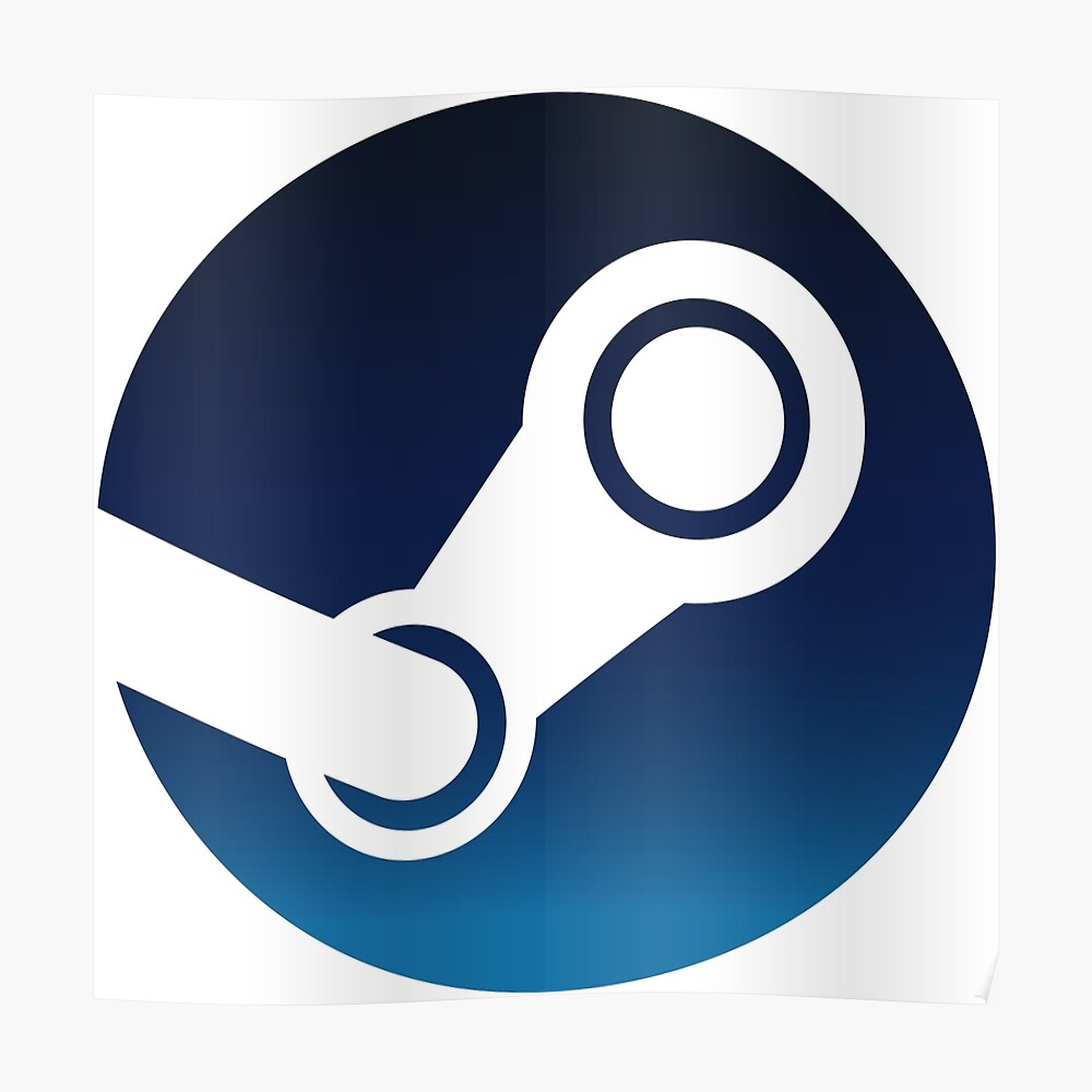"Steam Logo"" Sticker by limminl23 