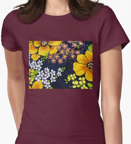 Flower Power 1970s Style #2  T-Shirt