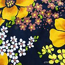 Flower Power 1970s Style #2  by Virginia McGowan