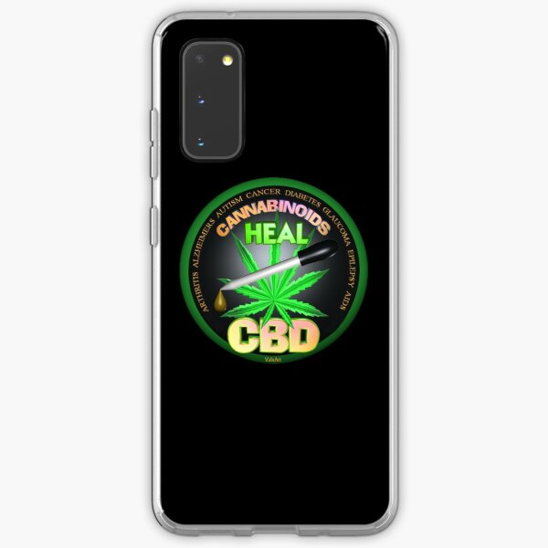 CBD Cannabinoids in Hemp oil Cures  learn truth about use of hemp oil to cure illness and pains. Samsung Galaxy Soft Case