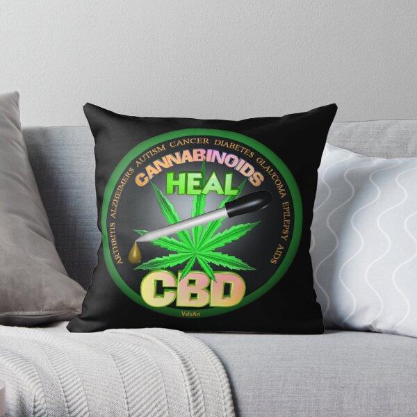 CBD Los cannabinoides en el aceite de cáñamo Las curas descubren la verdad sobre el uso del aceite de cáñamo para curar enfermedades y dolores. Cojín