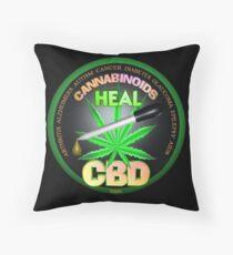 Cojín CBD Los cannabinoides en el aceite de cáñamo Las curas descubren la verdad sobre el uso del aceite de cáñamo para curar enfermedades y dolores.