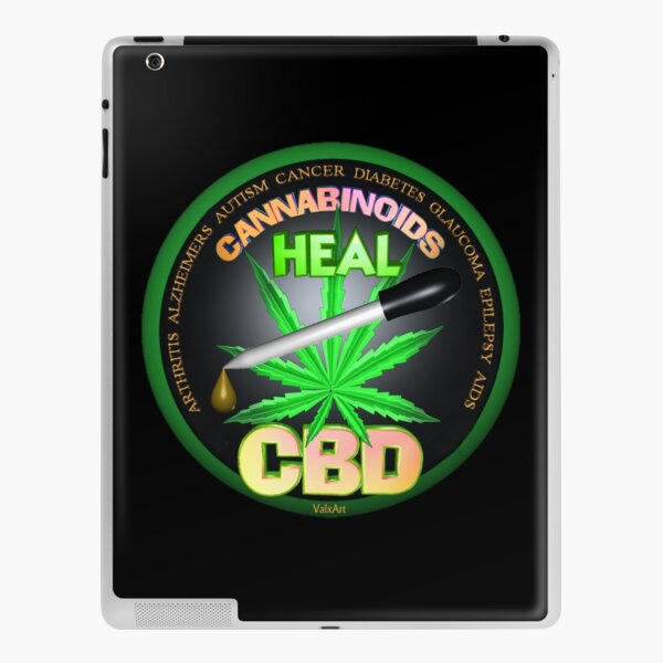 CBD Cannabinoids in Hemp oil Cures  learn truth about use of hemp oil to cure illness and pains. iPad Skin