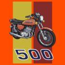 Kawasaki H1 500 by Steve Harvey