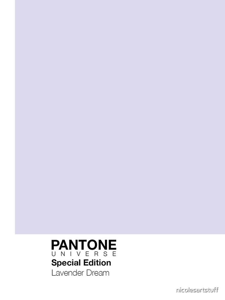 PANTONE + Lavender Dream Cases! by nicolesartstuff