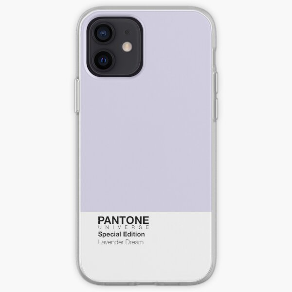PANTONE + Lavender Dream Cases! Funda blanda para iPhone