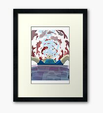 Finn The Human Framed Print