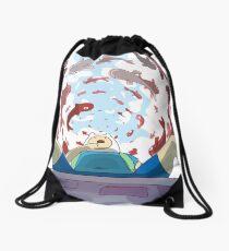 Finn The Human Drawstring Bag