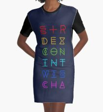DUNGEONS Graphic T-Shirt Dress