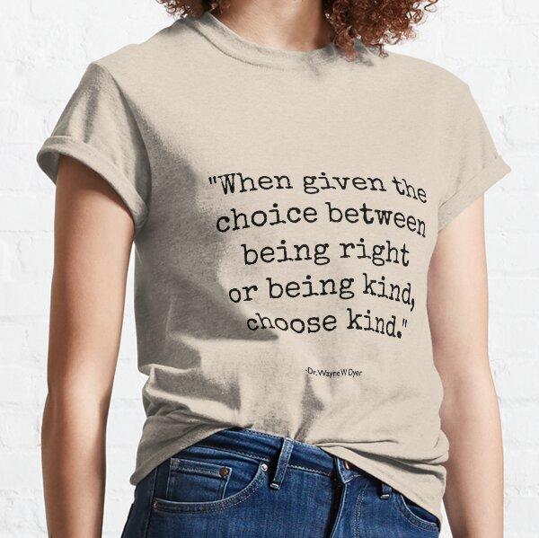 Wonder - Choose Kind Classic T-Shirt