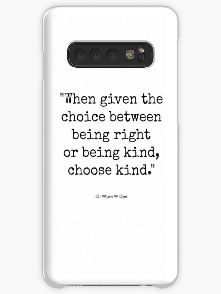 'Wonder - Choose Kind' Case/Skin for Samsung Galaxy by AngieBlakeley