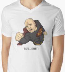 Karl Pilkington   Bullshit Man Men's V-Neck T-Shirt