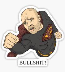 Karl Pilkington   Bullshit Man Sticker