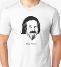 Alan Watts Zen Buddhist Eastern philosophy t shirt Unisex T-Shirt