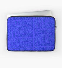 Blue Bunnies Laptop Sleeve