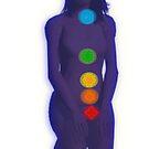 Chakra Mediation-Blue by m2inspiration