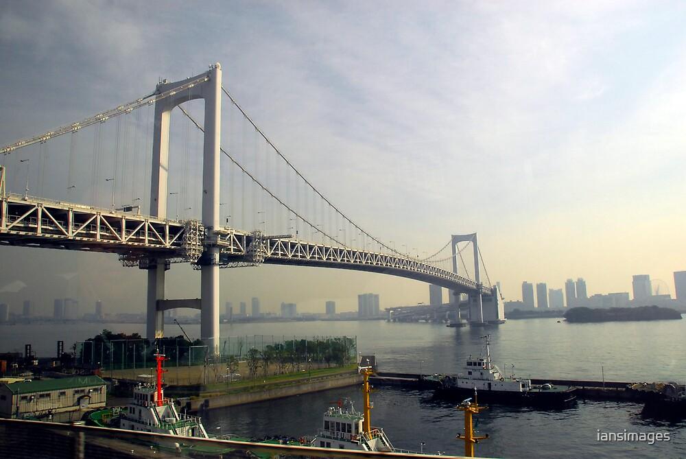 Rainbow Bridge - Tokyo by iansimages