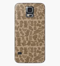Viking Bunny Map Pattern Case/Skin for Samsung Galaxy