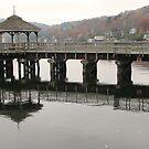 Bridge at North Hatley by Josette21