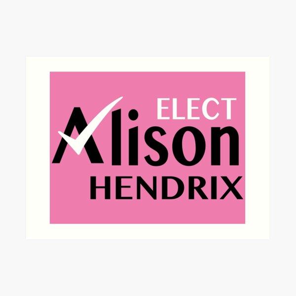 Elegir a Alison Hendrix Lámina artística