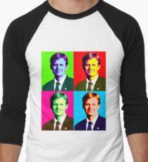 Jan Egeland Pop Art Men's Baseball ¾ T-Shirt