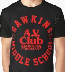 Hawkins Middle School Av Club T Shirts Redbubble