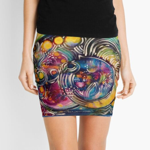 Angelic Mini Skirt