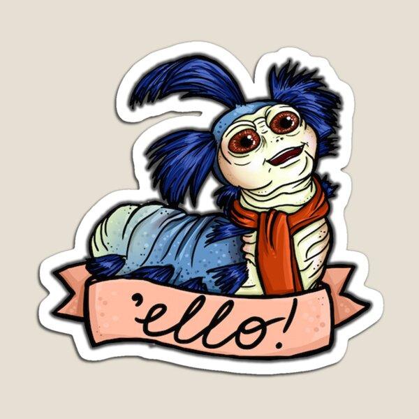 Ello - Labyrinth Worm Magnet