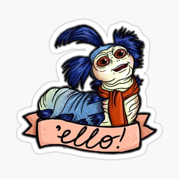 Ello - Ver de labyrinthe Sticker