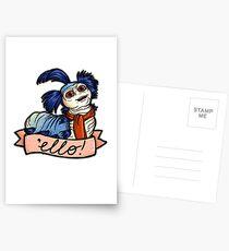 Ello - Labyrinth Worm Postcards