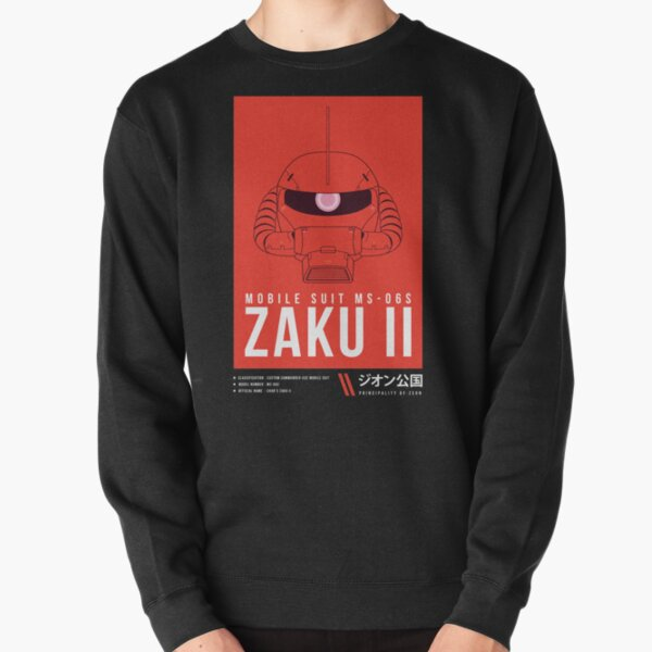 MS-06S Char's Zaku II  Ver.2 Pullover Sweatshirt