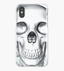 human skull iPhone Case/Skin