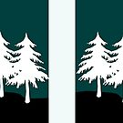 White Pine Christmas Trees by witandwhimsey