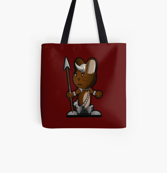 Lars The Viking Bunny All Over Print Tote Bag