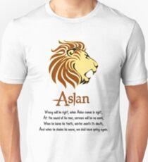 Aslan Poem T-Shirt