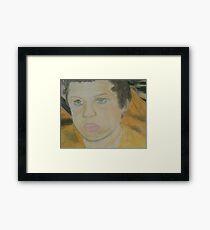 Brock Framed Print