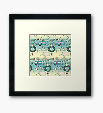 Kiwi Christmas Framed Print