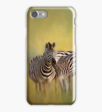 Zebras. iPhone Case/Skin
