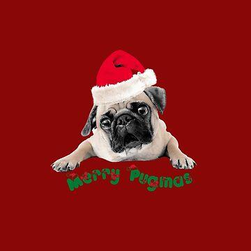 Merry Pugmas by PugD