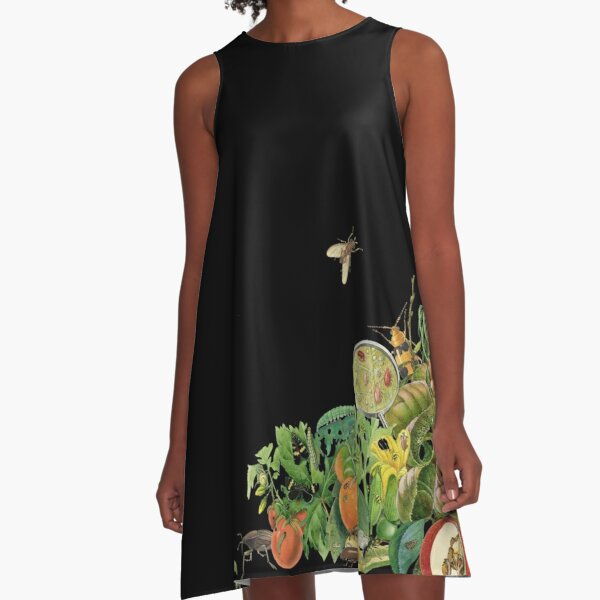 Insect pest cornucopia A-Line Dress