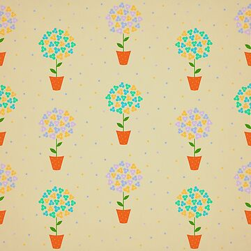 Floral Pattern Illustration by cristinadesign