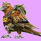 Steampunk Wedge Tailed Eagle by SmileDial