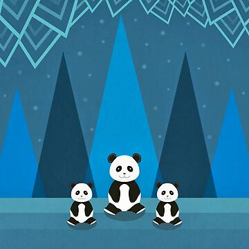 Cute Pandas by cristinadesign
