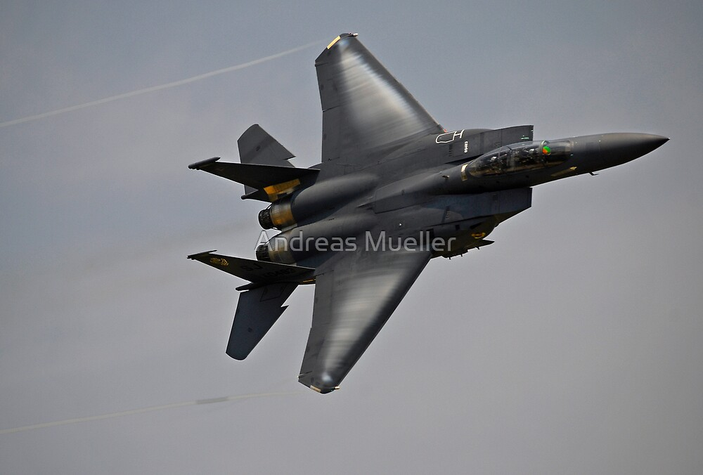 F-15E Strike Eagle by Andreas Mueller