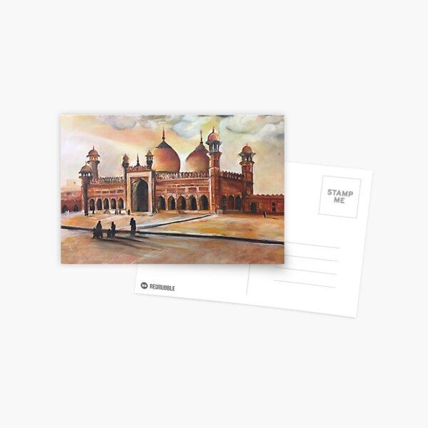 Mosque Landscape Postcard