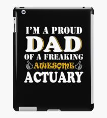 Actuary Dad Gifts - Father's Day Birthday Valentine Christmas iPad Case/Skin