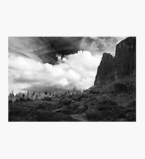 Rocks and boulders Photographic Print